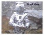 Mark Hardy (Doctor Who Cyberman) - Genuine Signed Autograph 7382